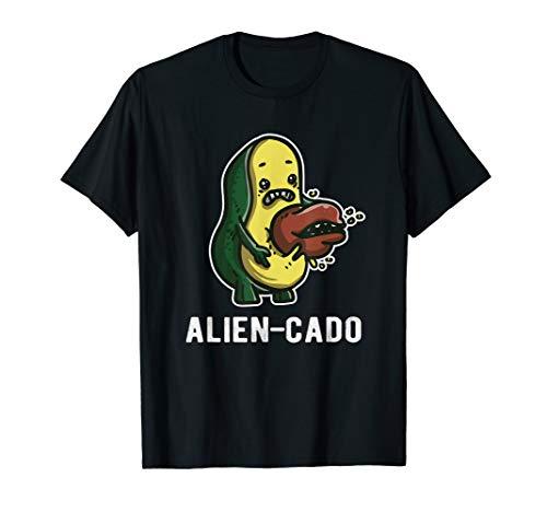 ALIEN-CADO - Alien Avocado Design SciFi für Alien Lover T-Shirt