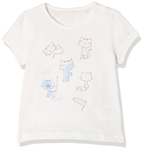 Sanetta Sanetta Baby-Mädchen 114184 T-Shirt, Beige (Ivory 1829), 56