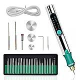 Kit de herramientas de grabado eléctrico USB recargable Mini DIY Micro grabador grabado pluma giratoria inalámbrico herramienta para tallar vidrio madera metal piedra plástico joyería