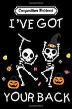 Composition Notebook: it's okay to be a little different skeleton halloween Journal/Notebook Blank Lined Ruled 6x9 100 Pages