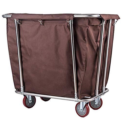 CART Carros de servicios médicos para el hogar Carros de mano Carro médico Artículos para el hogar Carro de clasificación de cesto de lavandería enrollable de servicio pesado, Carro de ruedas de hote