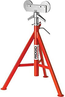 Roller Head Pipe Stand, 1/8 to 12 In.