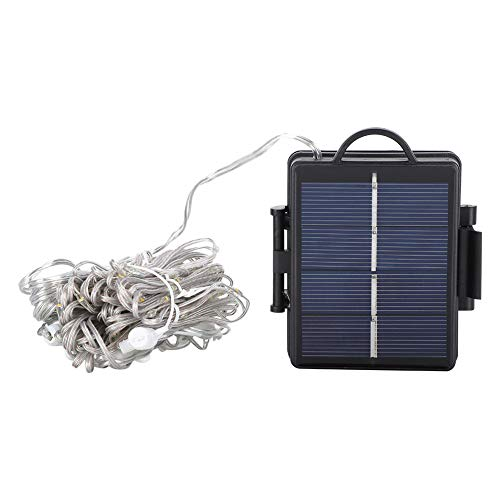 DAUERHAFT Pole Light, Umbrella Pole Solar Light, String Lights, 104pcs, for Beach Deck Tents for Wedding