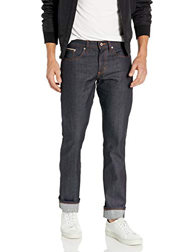 Naked & Famous Denim Men's Weirdguy Tapered Fit Jean In 11Oz Stretch Selvedge, OZ Stretch Selvedge, 32