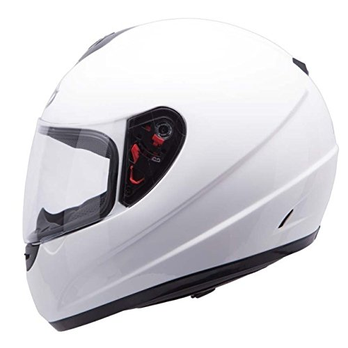MT Thunder Solid Casque T-L blanc