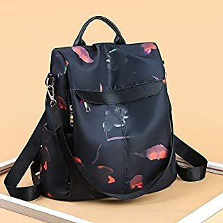 Double Shoulder Bag New Fashion Trend Print Double Backpack Bag