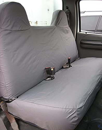 Durafit Seat Covers for 1999-2007 Ford F250-F550 Work Truck with a Front Solid...