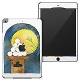 igsticker iPad mini 4 (2015) 5 (2019) 専用 全面スキンシール apple アップル アイパッド 第4世代 第5世代 A1538 A1550 A2124 A2126 A2133 シール フル ステッカー 保護シール 015850 月見 十五夜 うさぎ