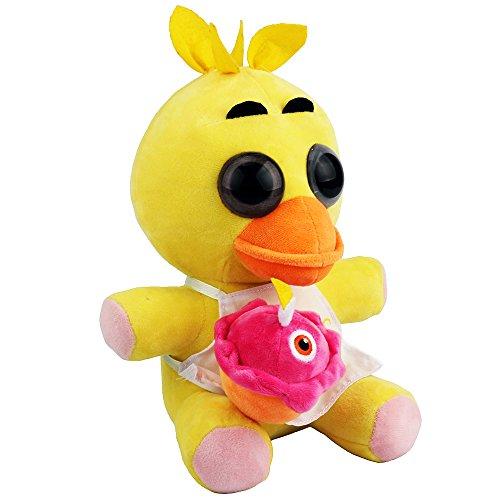 New Arrival Fnaf Chica Plush Soft Toy Doll For Kids Gift-Nueva Llegada Fnaf Chica Suave De La Felpa Muneca De Juguete Para Ninos Regalo