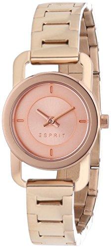 Esprit Damen-Armbanduhr XS Dora Analog Quarz Edelstahl beschichtet ES107752004