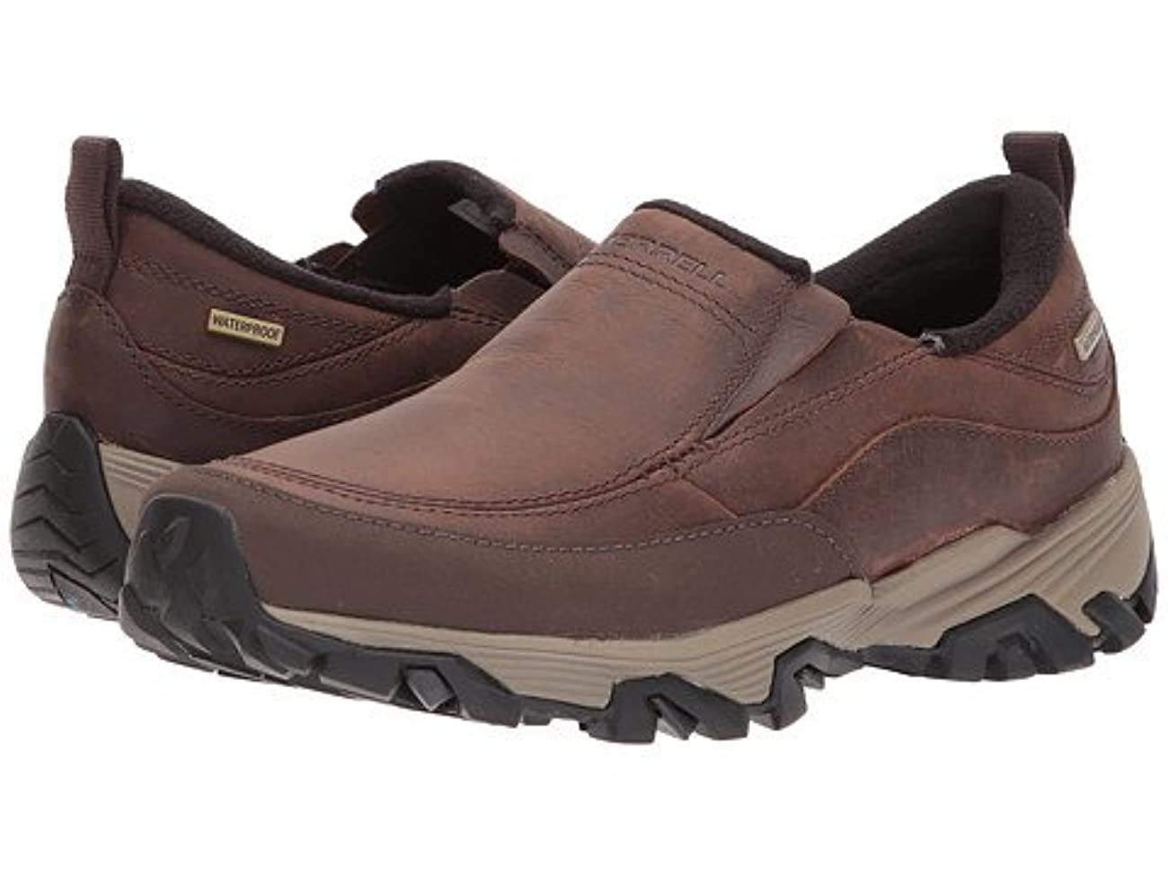 しっかり悩み多様な(メレル) MERRELL レディースウォーキングシューズ?スニーカー?靴 Coldpack Ice+ Moc Waterproof Cinnamon 8 25cm M [並行輸入品]