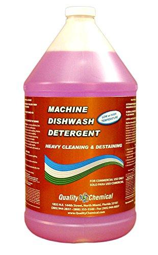 Quality Chemical Commercial Industrial Grade Machine Dishwash Detergent - A Premium Grade Detergent for Low or high Temp dishwash Machines-1 Gallon (128 oz.)