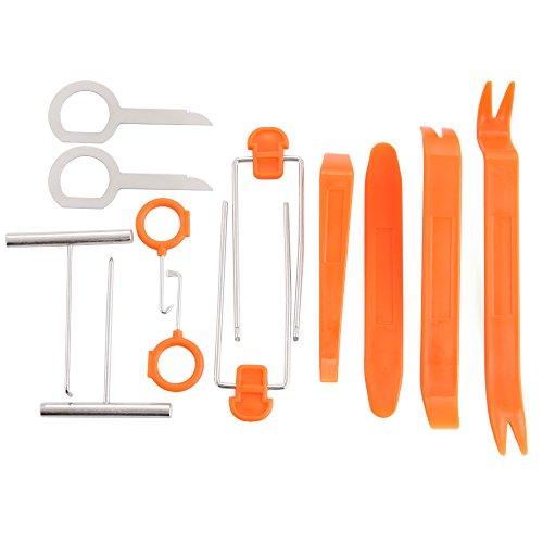 VCiiC Auto Door Clip Panel Trim Removal Tool Kits for BMW E46 E52 E53 E60 E90 E91 E92 E93 F01 F30 F20 F10 F15 F13 M3 M5 M6 X1 X3 X5 X6[12PCS]