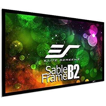 Elite Screens Rahmenleinwand Sable Frame B2 222 x 125 cm, 16:9 Format 100 Zoll, SB100WH2