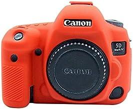 حقائب الكاميرا/الفيديو - حافظة غطاء لـ Canon EOS 5D Mark IV حافظة واقية ناعمة من السيليكون لأغطية كاميرا كانون BPUP-33056694727-004