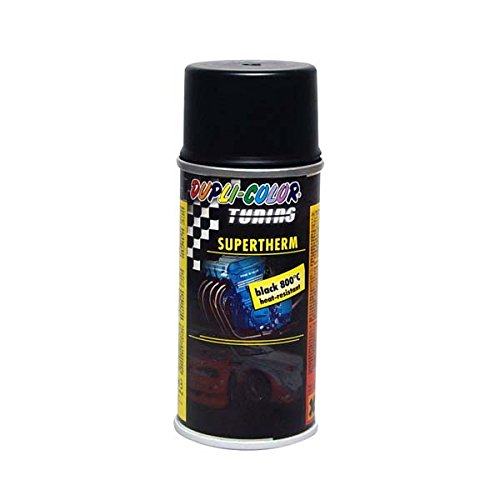 Dupli-Color 133770 Supertherm-Spray, 800°C, 150 ml, Schwarz