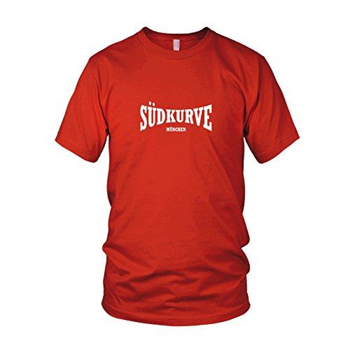 Südkurve München - Herren T-Shirt, Größe: XXL, Farbe: rot