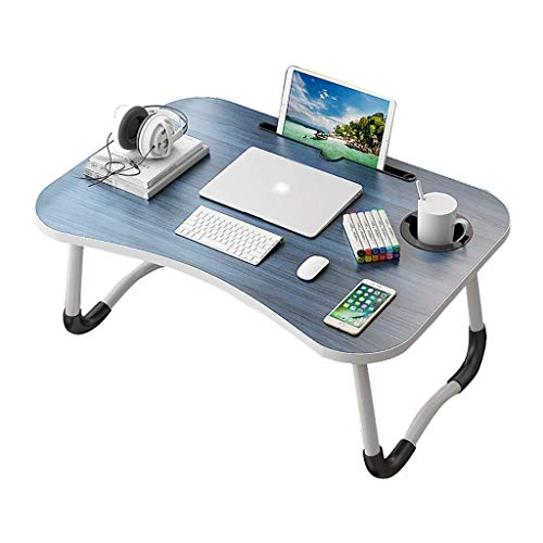 AOIWE Lap Desk, Laptop Table, Foldable Lazy Table On The Bed, Home Study Desk In Student Dormitory In Bedroom