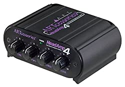 Tascam, ART Pro Audio HeadAmp 4 Four Channel Headphone Amplifier