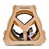 RSTJVB Cat Treadmill Ferris Wheel Pet Furniture,Cat Exercise Wheel Cat Climbing House Running Spinning Toy for Cats Movement Wheel,Small