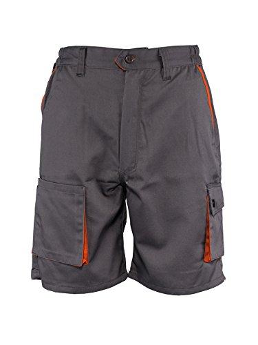 Desman® - Herren Shorts/kurzen Arbeitshosen - für den Sommer - Grau EU46