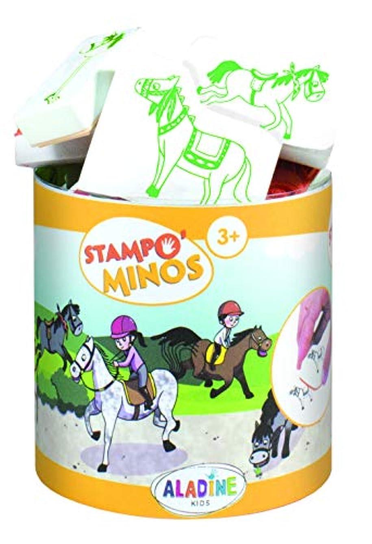 Aladine 85146?STAMPO Minos Stamp Set, Multi-Colour