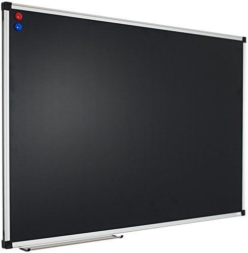 XBoard 48 x 36 Magnetic Blac Board security Ranking TOP8 Chalkboard Black Chalk