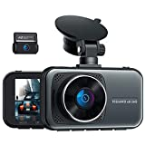 TOGUARD 4K Dual Dash Cam for Cars UHD 2160P+1080P Front and Rear Dash Camera, 3' Display Supercapacitor Car Dashboard Camera Drive Recorder w/Hardwire Kit 24H/7 Parking Mode G-Sensor Support 256GB Max