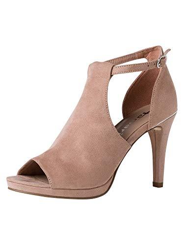Tamaris Damen Sandaletten Rosa, Schuhgröße:EUR 41