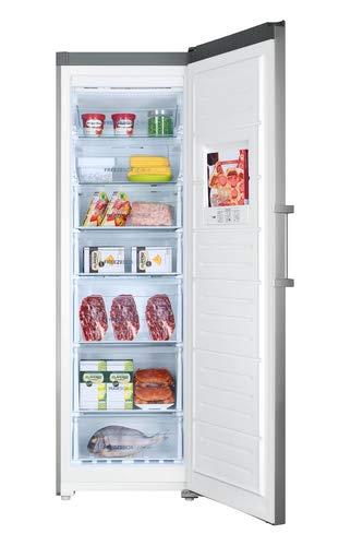 Haier H2F-255FSAA congelatore Libera installazione Verticale Acciaio inossidabile 262 L A++