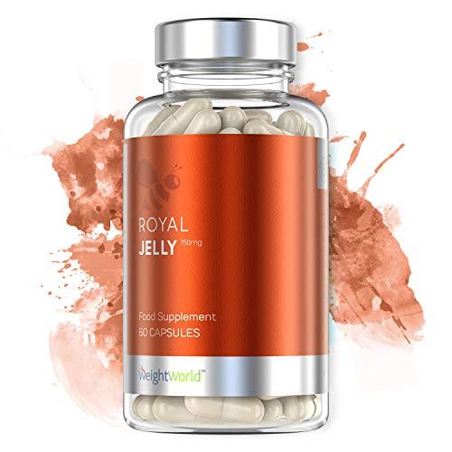ROYAL JELLY - GELÉE ROYALE - Propolis Pure - Favorise Concentration & Mémoire - Soutient des Défenses Immunitaires - Extraction Écologique et Durable - Végans - 60 gélules - WeightWorld