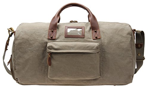 Iblue Overnight Travel Bag Large Canvas Weekend Duffle Carry On Tote M99...