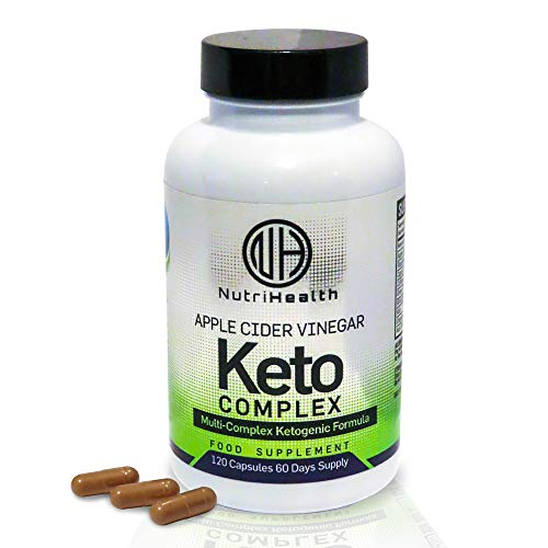 Keto Diet Pills Premium Strength Apple Cider Vinegar Capsules Keto Complex - Weight Loss Supplement - Fat Burners for Women and Men Made in The UK