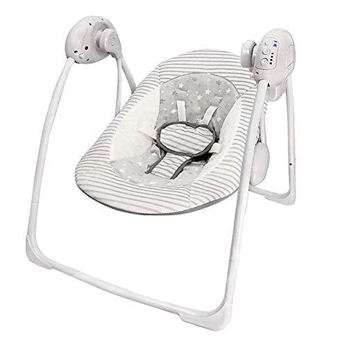 AZZ elektrische Baby schommelstoel, Baby Balance Bouncer, kan zitten liggen, timing functie, met zachte Appease muziek
