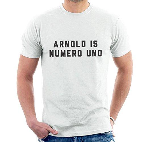 Arnold Schwarzenegger Arnold is Numero UNO Men's T-Shirt