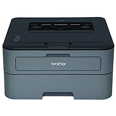 Brother Printer EHLL2320D Compact Laser Printer with Duplex Printing (Certified Refurbished) with Ink Cartridge from