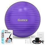 Gonex Palla da Ginnastica Fitness Yoga Pilates (55-75 cm), Palla Antiscivolo Supporta 2200...