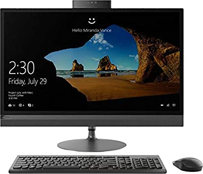 "2020 Lenovo IdeaCentre 520 27"" QHD Touchscreen AIO Desktop Computer, 8th Gen Intel Hexa-Core i5-8400T up to 3.3GHz, 16GB DDR4 RAM, 1TB 7200RPM HDD + 256GB PCIE SSD, DVDRW, 802.11ac WiFi, Windows 10"