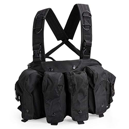 Shefure CQC AK Chest Rig Molle Tactical Vest Military Army
