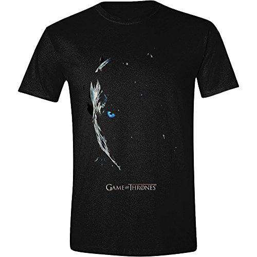Game of Thrones Season 7 Poster - Nachtkönig T-Shirt schwarz M