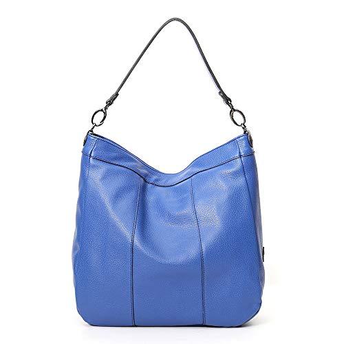 Gabs Damen Schultertasche Kate Hobo Bag Ruga Gr. M Kobalt (blau)