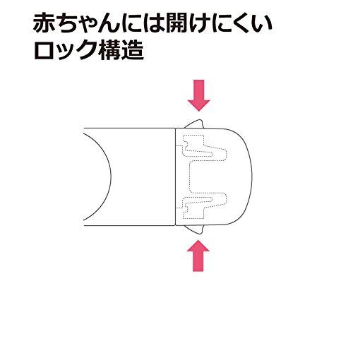 Richell『ベビーガード冷蔵庫引き出しロックR(21527-2)』