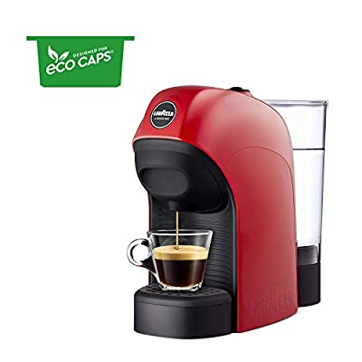 Lavazza A Modo Mio Tiny Espresso Coffee Machine, Red