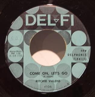 Come on Lets Go / Framed~45 RPM