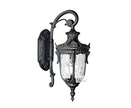 Irinay Sentier Lanternes Le Jardin Imperméable Lampe De Patio Jardin Patio Est Un Simple Off Road Light Villa Couloir 24 5 * 15 5 * 43 Cm (Color : Colour-Size)