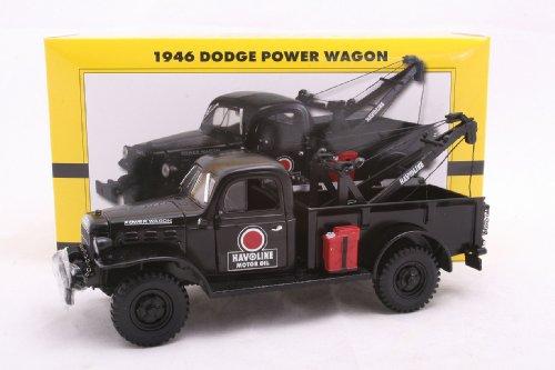 1946 Dodge Power Wagon Wrecker 1/25 Havoline Motor Oil Black