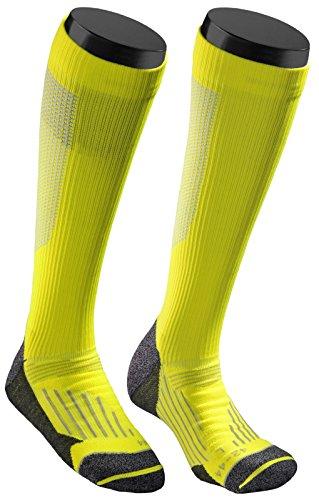 SOXEGO Kompressionssocken/Kompressionssocken/Kompressionsstrümpfe für Laufen, Flugreisen, Radfahren & Fitness - Yellow - Gr. 45-47