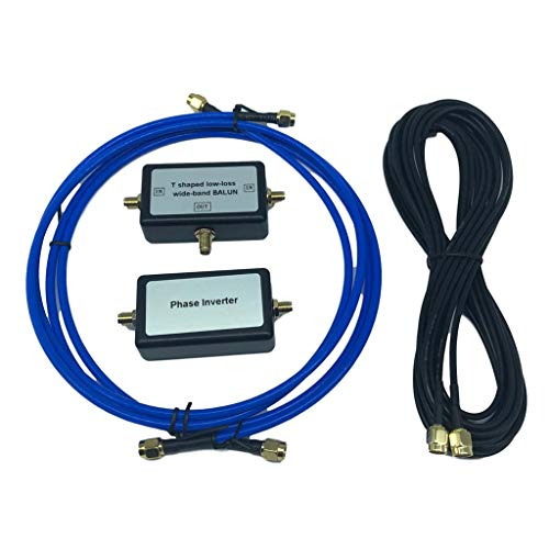 YouLoop Magnetantenne, tragbar, passiv Balun-Schleifenantennen für HF VHF 250 mW