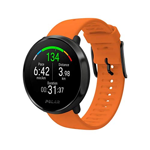 Polar Ignite Montre Multisport Adulte Unisexe, Orange, M/L
