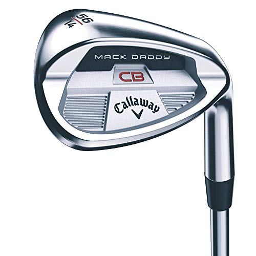 Callaway Mack Daddy CB Wedge (Left, Graphite, Wedge Flex, 60 Degrees)